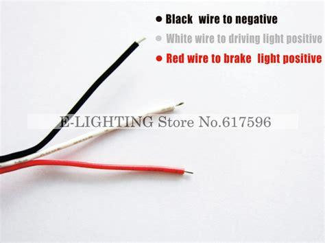 which wire is black or white aliexpress buy len led rear bumper reflector add