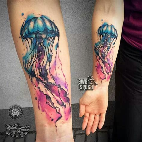 jellyfish tattoos 25 best ideas about jellyfish on
