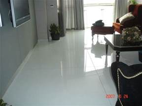 china white shiny environmental crystal glass floor tile