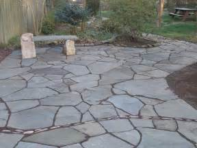 Flagstone Pavers Patio The Paver Patio Designs Patio Design