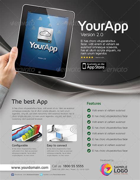 20 premium tablet flyer design templates