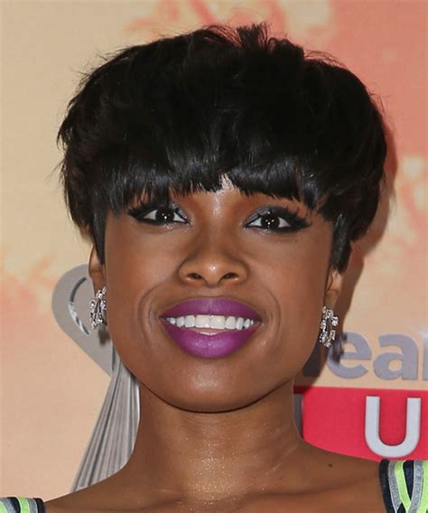 jennifer hudson new hairstyle jennifer hudson short straight casual hairstyle with blunt