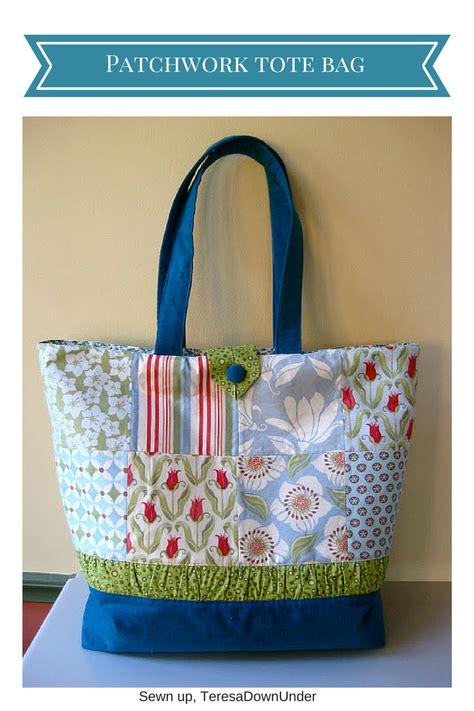 tutorial tote bag sewing charm pack tote bag tutorial sewn up