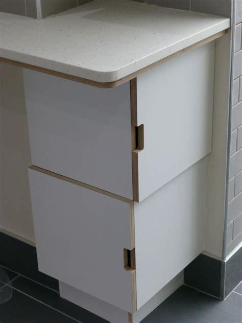 laminated birch ply kitchen by Peter Henderson Furniture