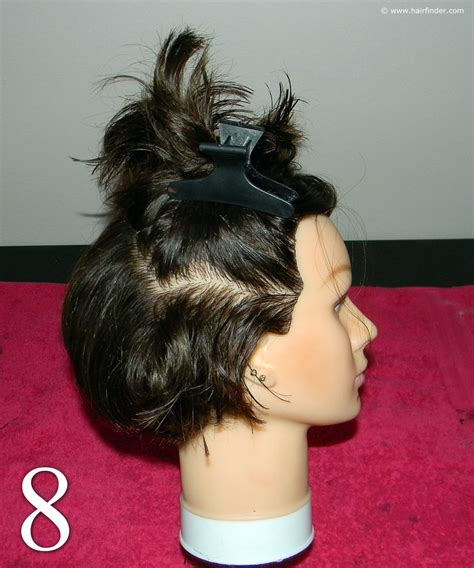 how to blow dry a bob to give volume step by step instructions for blow drying a short bob