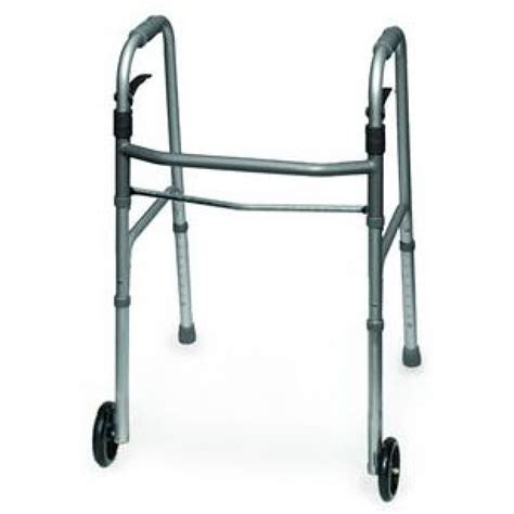 invacare dual release walker with whl gld on sale with