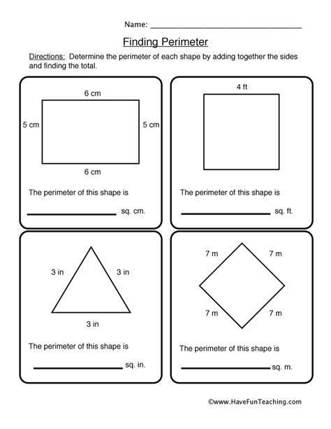 printable area activities finding perimeter worksheets worksheets tutsstar