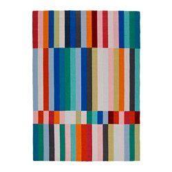 ikea halved rug halved rug flatwoven handmade multicolor ikea united
