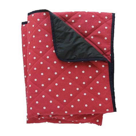 Padded Picnic Rug by Large Padded Picnic Blanket Polka Dot By Just A