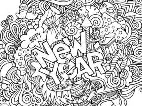 new year coloring page new year s 2017 coloring 1 1 1 1