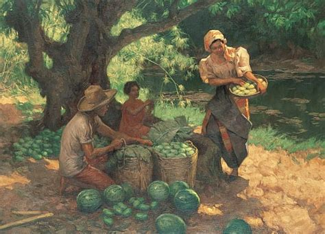 biography of filipino artist fernando c amorsolo works on sale at auction biography