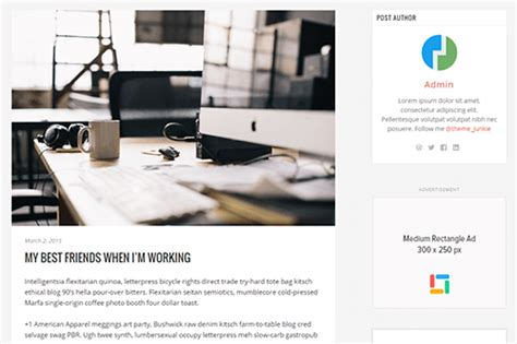 theme junkie flatline flatline wordpress theme theme junkie