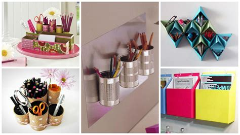 diy decorations with office supplies 16 fascinating diy ideas to organize your office supplies