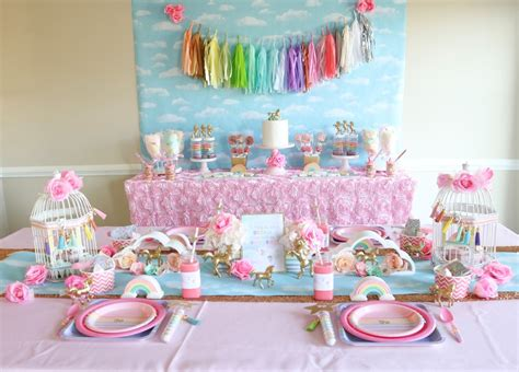 unicorn themed birthday party ideas unicorn birthday party ideas
