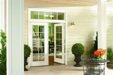 swinging patio door swinging patio doors simonton windows doors