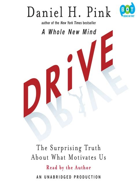 drive the surprising truth 1594488843 drive overdrive digital books
