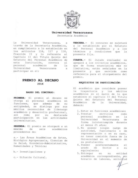 convocatoria 2016 minsa la libertad convocatoria premio al decano 2016 secretar 237 a acad 233 mica