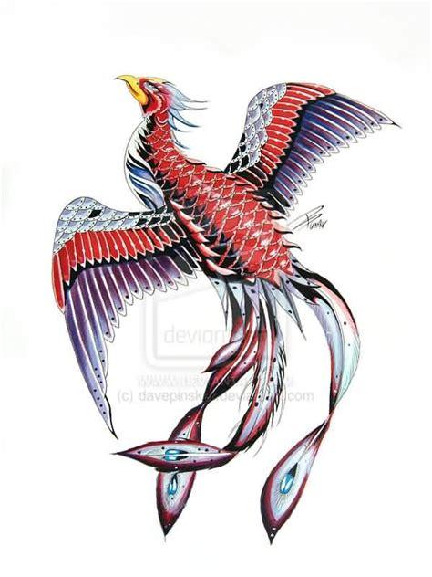 fresh japanese phoenix rising tattoo on back tattoobite com