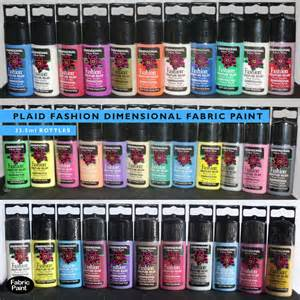 Funky Upholstery Fabric Plaid Fashion Dimensional Fabric Paint Select Your Own