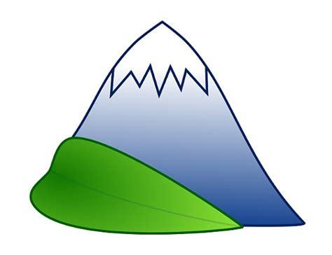 clipart montagna leaf berg gr 252 n clipart natur symbol royalty free keine