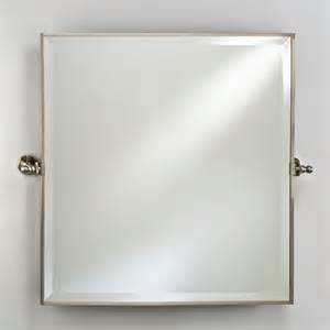 square bathroom mirror bathroom mirrors radiance framed square bevel wall