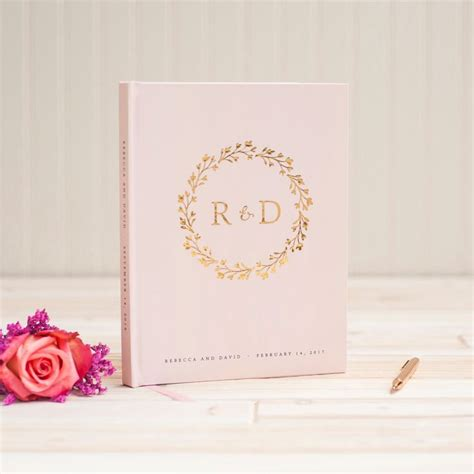 Handmade Guest Book Wedding - 20 best foil wedding guest books images on