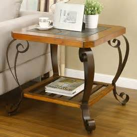 slate end table from big lots creative home decorating ideas 1