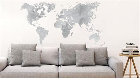 Map Of The World Wall Stickers wandtattoo skyline wandtattoos st 228 dte wall art