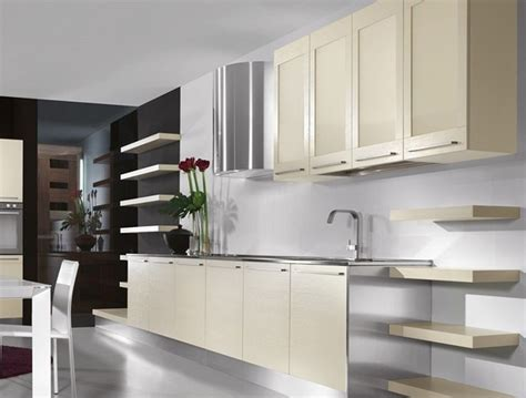 Modern Kitchen With White Cabinets Decorating With White Kitchen Cabinets Designwalls