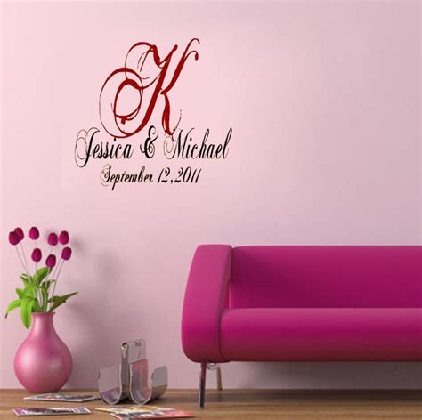 home decor vinyl custom wedding party decoration dance floor decals wall