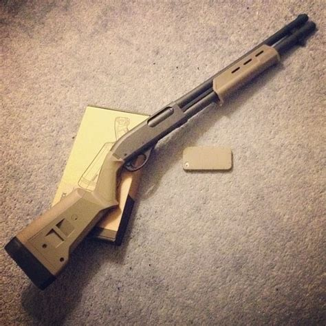 Tactical Furniture by Remington 870 Tactical With Magpul Furniture And