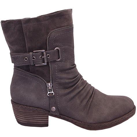 grey boots rieker bernadette 93761 43 modern boots in grey