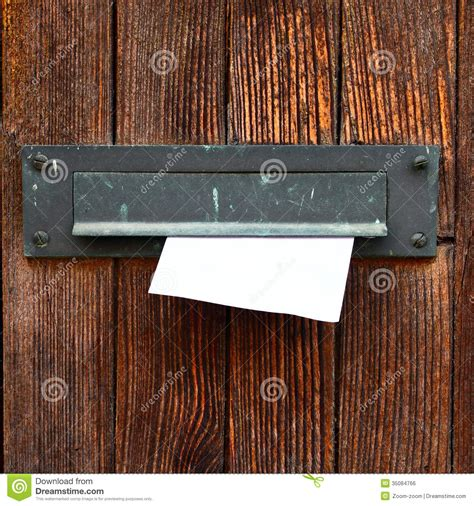 Putting Business Cards On Doors