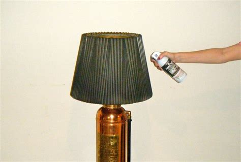 spray paint l shade diy how to spray paint fabric l shade diy projects