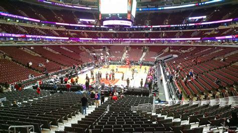 section 118 united center united center section 116 chicago bulls rateyourseats com