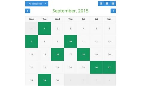 Php Calendar Restaurant Booking System Table Booking System Phpjabbers