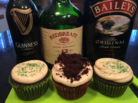 beer cupcakes chocolate whiskey and beer cupcakes recipe dishmaps