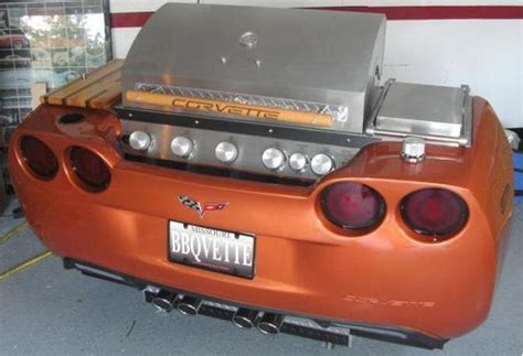 Handmade Grill - desks and grills give new ways to express your corvette
