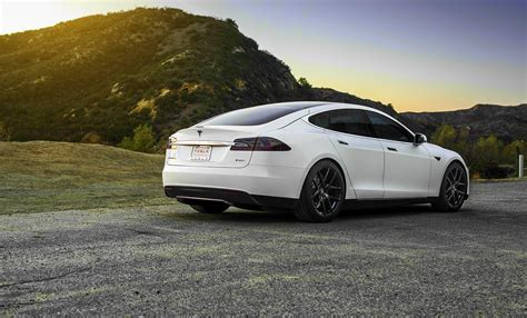 Tesla Model S White Tesla Model S White Wheels Hd Wallpaper