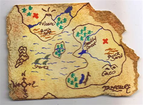 treasure maps treasure map and cake ideas and designs
