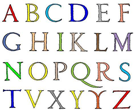 lettere alfabeto sta disegno di lettere alfabeto a colori