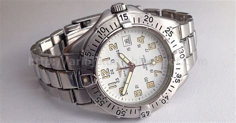 Jam Tangan Breitling Quartz jam tangan second sold breitling colt quartz a57035 38mm