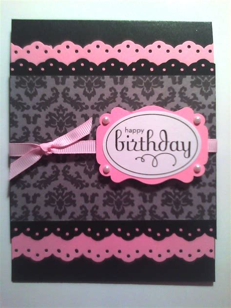 Handmade Birthday - sistochris scrapbooking and paper crafts handmade sted