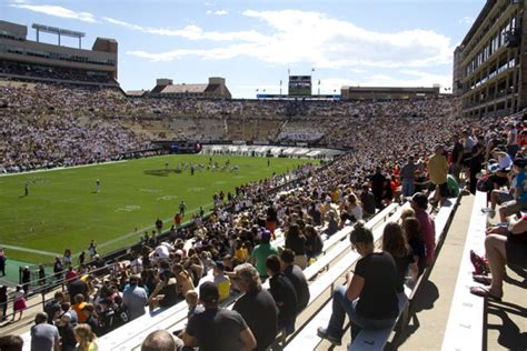 Cu Denver Vs Cu Boulder Mba by Colorado Buffaloes Football Signs Its Highest