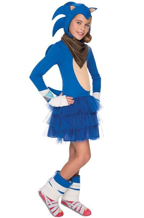 sonic boom girl child costume purecostumescom