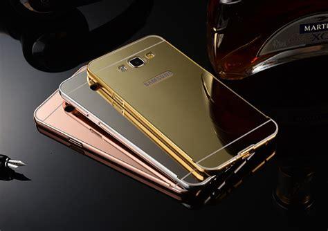 Motomo Metal Bumper Stainless Samsung Galaxy J7 Gold metal mirror back bumper cover for samsung galaxy j7 j5 a7 a8 mirror buy metal
