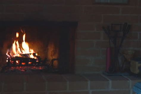 Looping Fireplace by Fireplace Live Feed Background Loop Stock