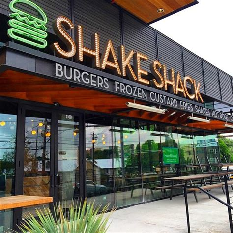 shake shack shake shack features lockhart burger uchi frozen custard