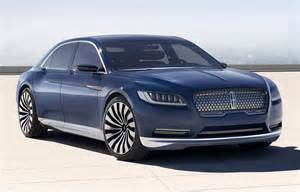 new lincoln concept car lincoln continental concept concept cars diseno
