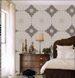 Venus wall stencil modern designer pattern decor better than vinyl